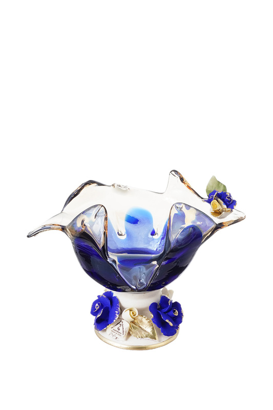 Конфетница White Cristal 47102