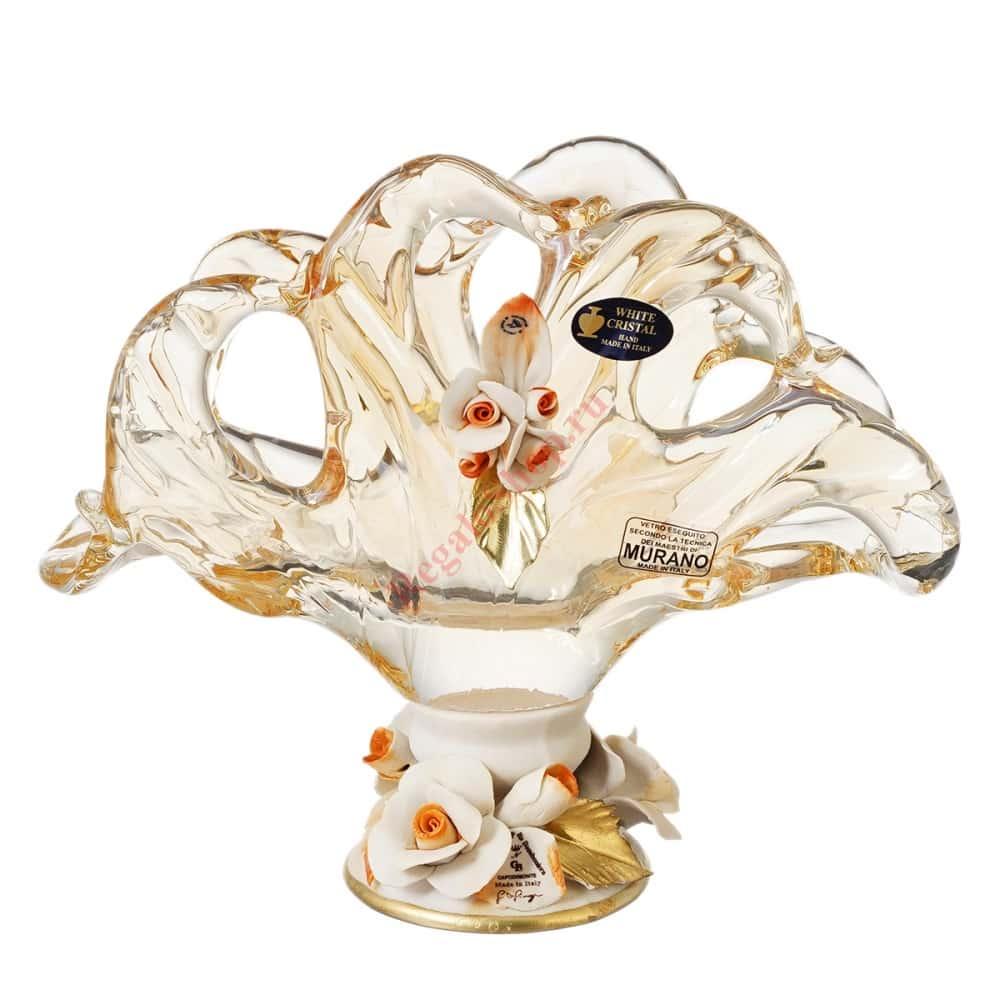 Салфетница White Cristal 47117