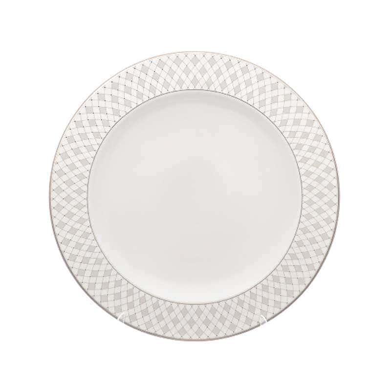 Блюдо круглое Repast Серебрянная сетка 32 см
