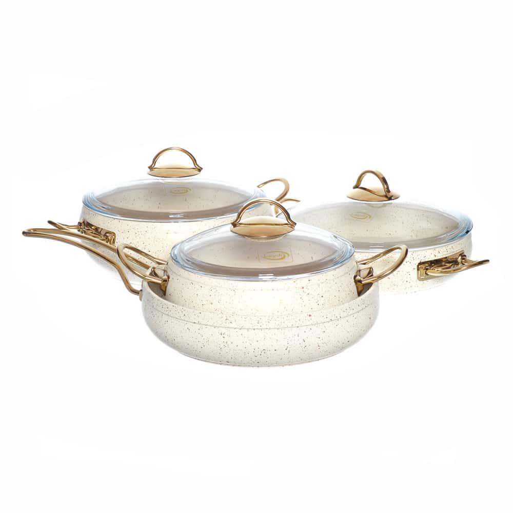 Набор посуды с а/п покрытием Repast из 7 предметов 49146