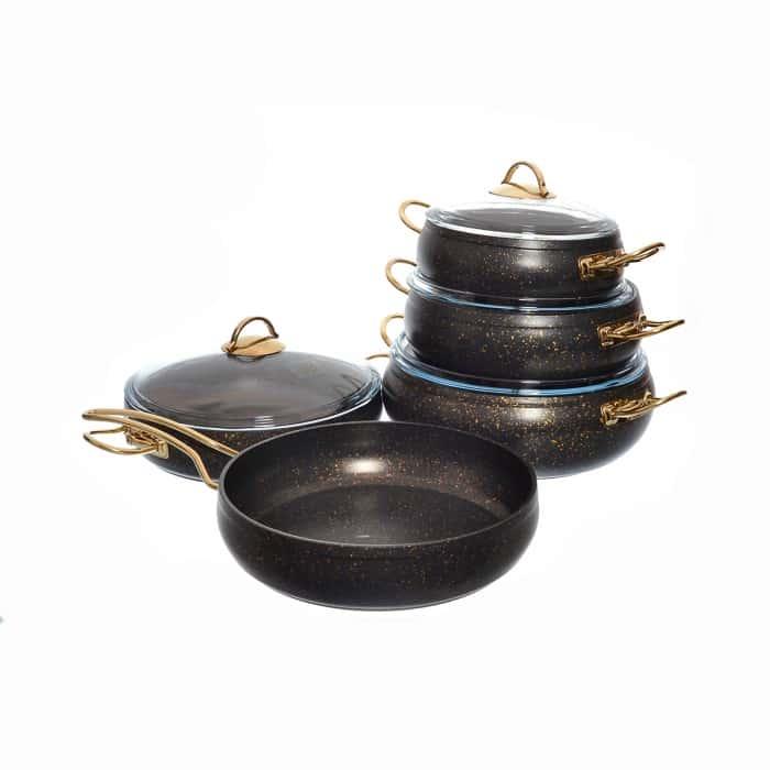 Набор посуды с а/п покрытием Repast из 9 предметов