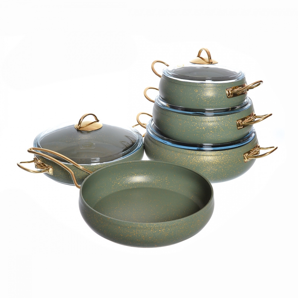 Набор посуды с а/п покрытием Repast из 9 предметов 49142