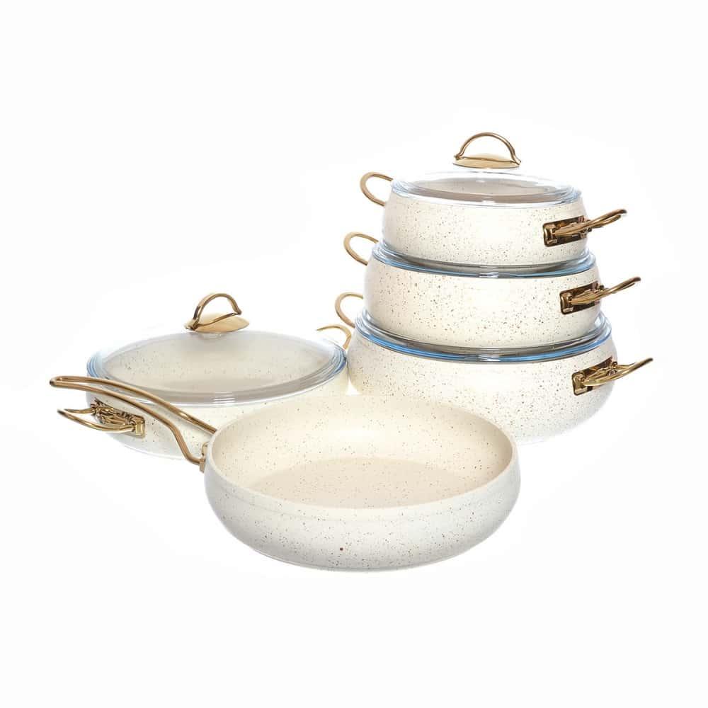 Набор посуды с а/п покрытием Repast из 9 предметов 49143