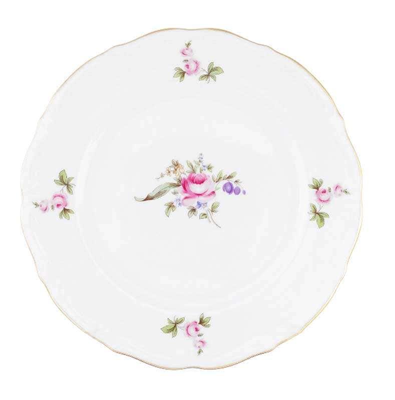 Набор тарелок плоских Repast Мейсенский букет 21 см