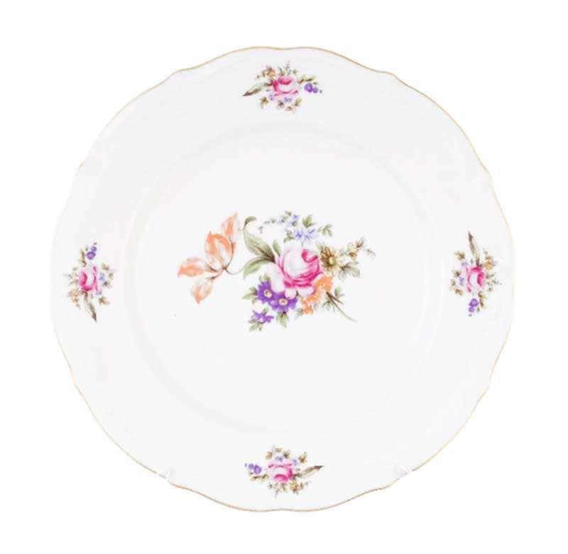 Набор тарелок плоских Repast Мейсенский букет 25 см