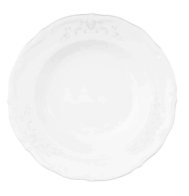 Набор глубоких тарелок Repast Серебрянная сетка 22.5 см