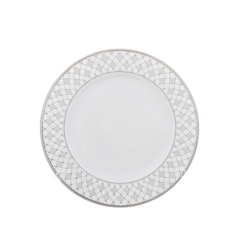 Набор плоских тарелок Repast Серебрянная сетка 19 см