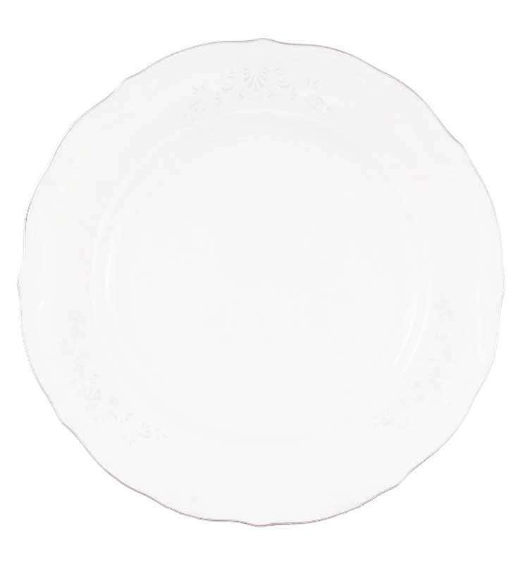 Набор плоских тарелок Repast Свадебный узор 19 см