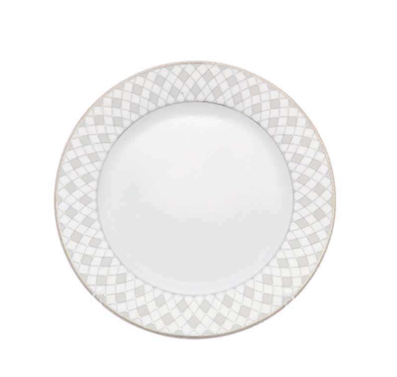 Набор плоских тарелок Repast Серебрянная сетка 25 см
