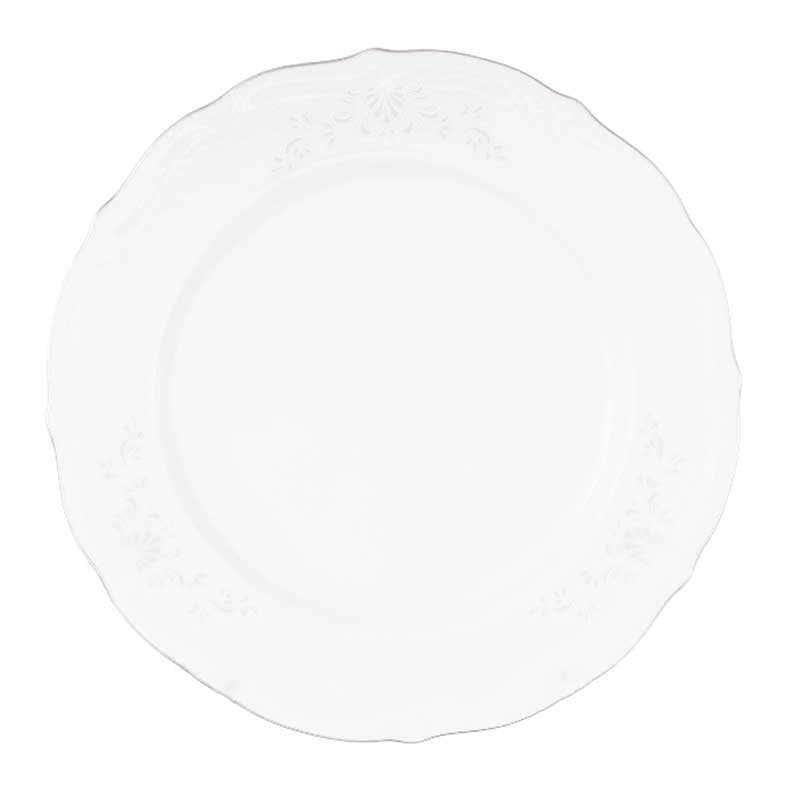 Набор плоских тарелок Repast Свадебный узор 25 см