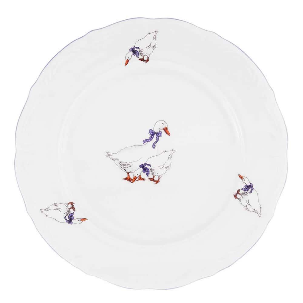 Набор плоских тарелок Repast 19 см Гусики (6 шт)