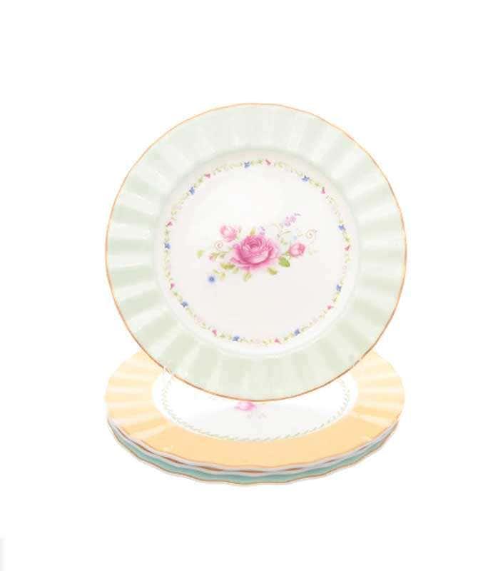 Набор тарелок Repast Времена года 21 см