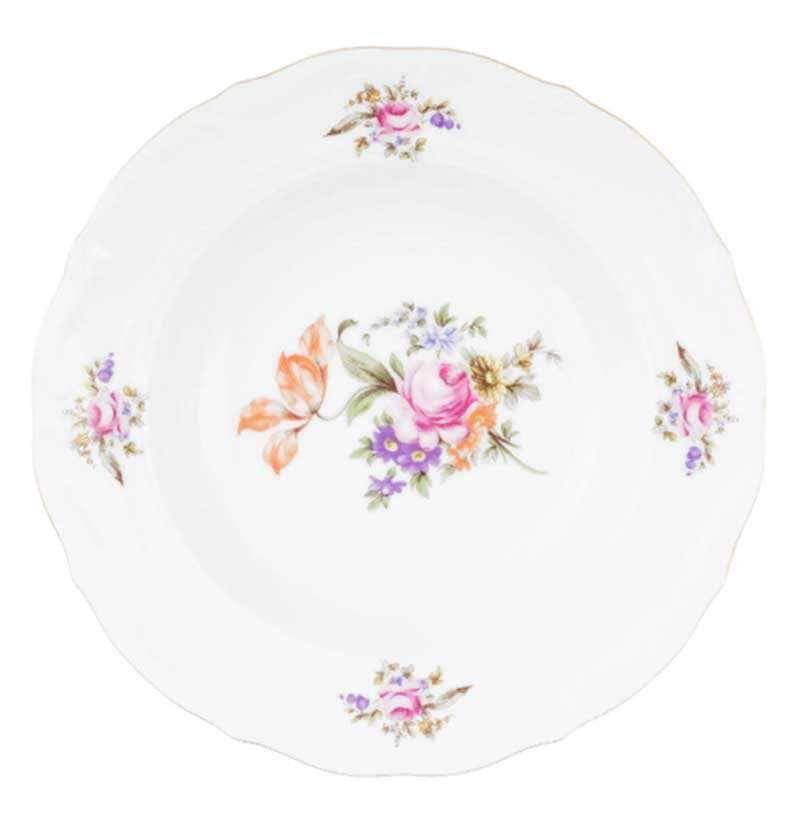 Набор тарелок глубоких Repast Мейсенский букет 22.5 см