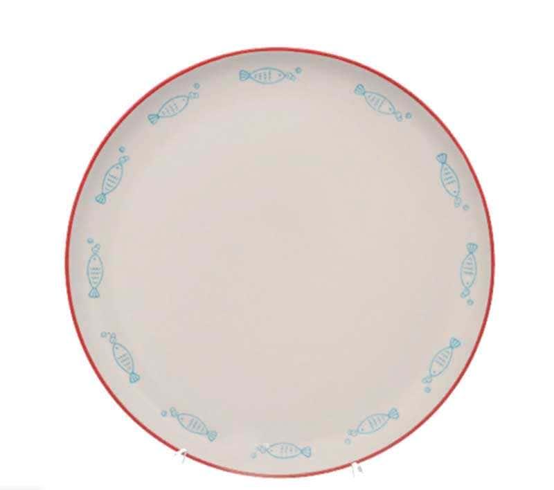 Набор тарелок Repast swimming fish 26x26x3 см