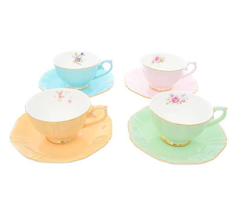 Набор чайных пар Repast Времена года 200 мл круглые