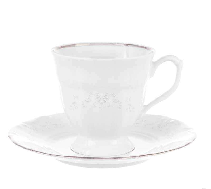 Набор чайных пар Repast Свадебный узор 200 мл