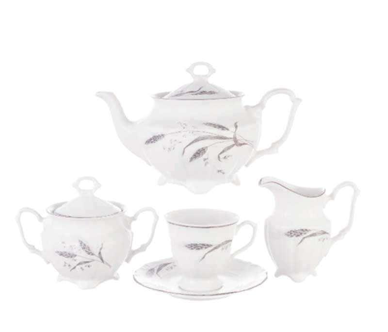 Чайный набор Серебряные колосья Repast 15 пр