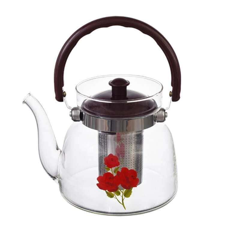 Чайник с металлическим ситом Royal Classics 46059