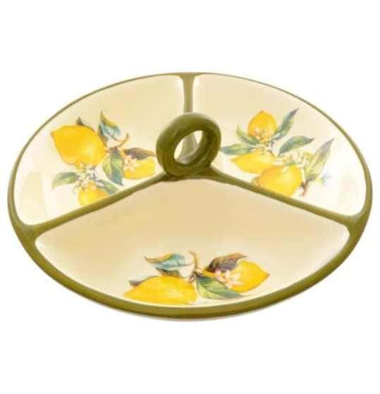 Менажница 3-х секционная Royal Classics Лимоны