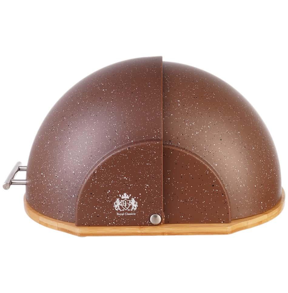Хлебница Royal Classics Тёмный шоколад 37*26*19,5 см