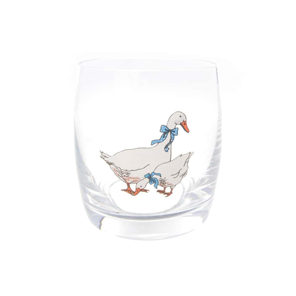 Набор стаканов AS Crystal Гуси 290 мл (6 шт)
