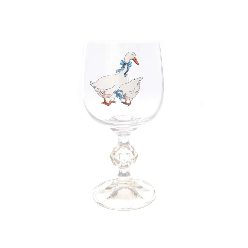 Клаудия набор бокалов для вина AS Crystal Гуси 190 мл (6 шт)