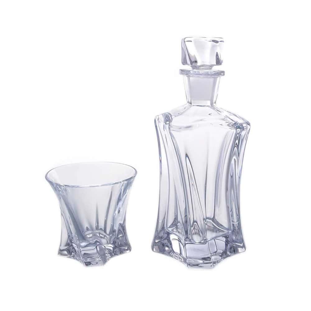 Набор для виски 3 предмета Aurum Crystal Cooper