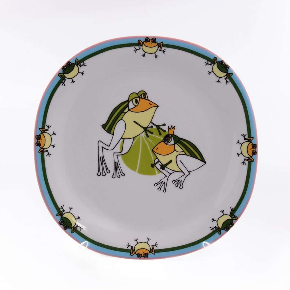 Тарелка Benedikt Baby Porcelain 24 см Лягушата