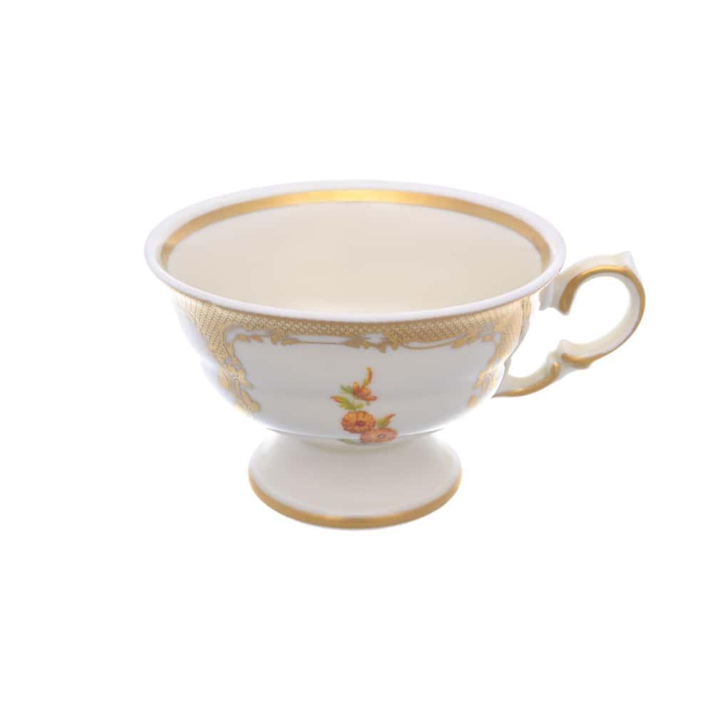 Чашка Carlsbad Аляска Мелкие цветы Слоновая кость 240 мл (1 шт)