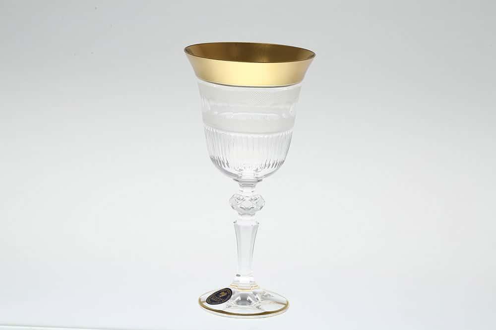 Набор бокалов для вина 220 мл Crystal Heart 35029