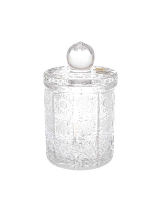 Конфетница с крышкой Crystal Heart 15см 50106