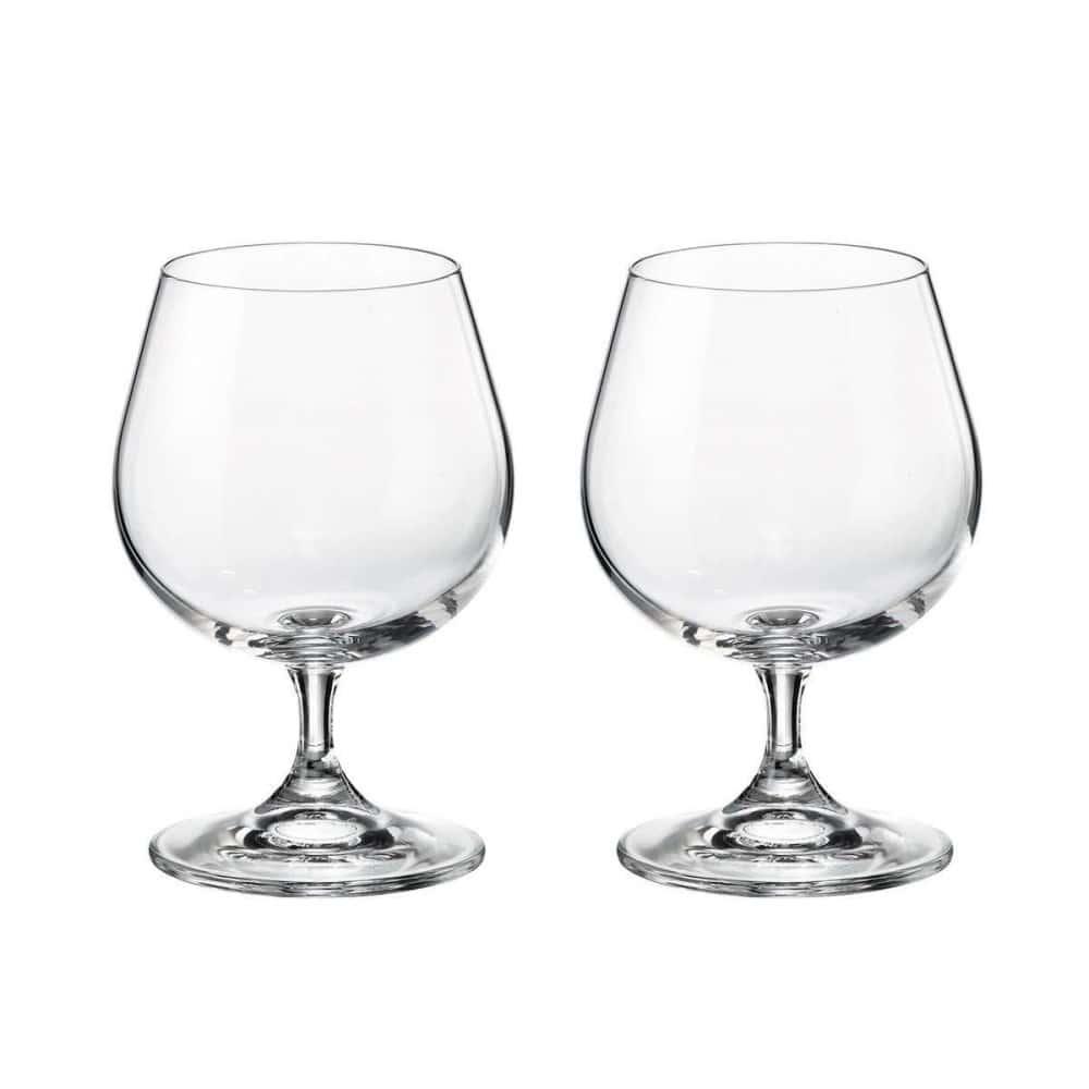 Набор бокалов для бренди Crystalite Bohemia Sylvia/Klara 400 мл