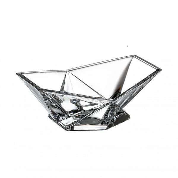Конфетница Crystalite Bohemia Origami 22 см 32287