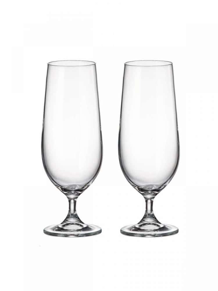 Набор бокалов для пива Crystalite Bohemia Colibri/Gastro 380 мл