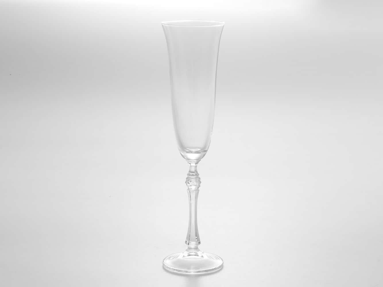 Набор фужеров для шампанского 190 мл PARUS Кристалайт Богемия