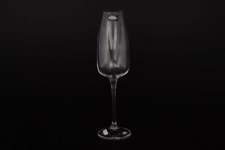 Набор фужеров для шампанского 290 мл ANSER ALIZEE Crystalite Bohemia