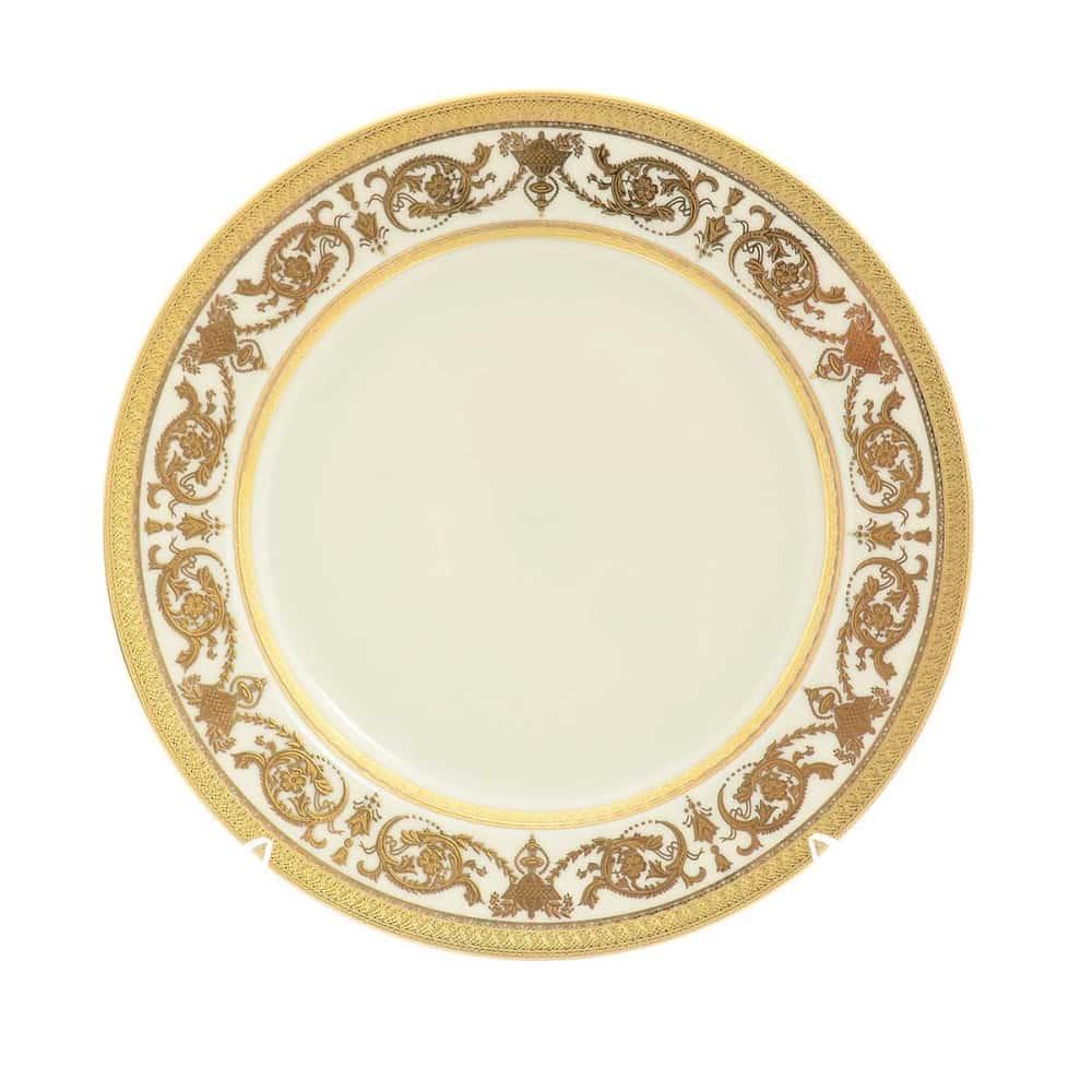 Тарелка Constanza Crem Imperial Gold 21 см (1 шт)