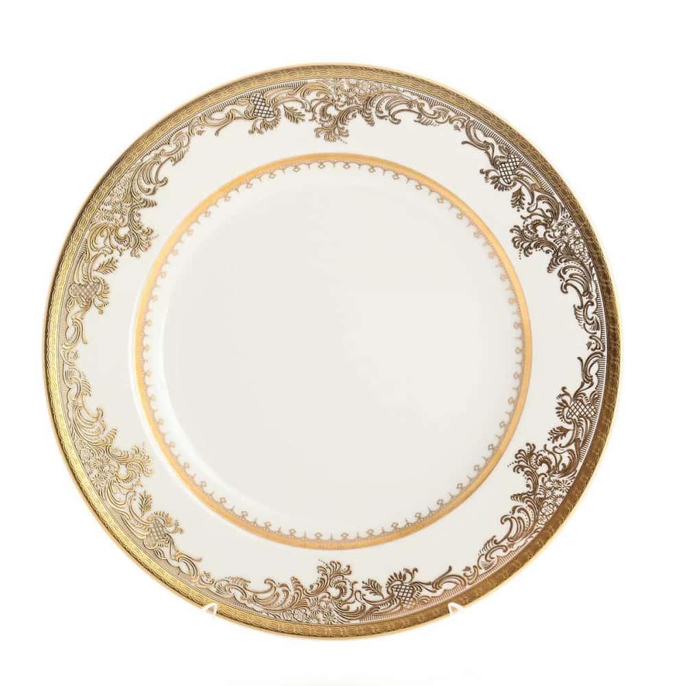 Блюдо круглое Falkenporzellan Cream Gold 30 см 27719