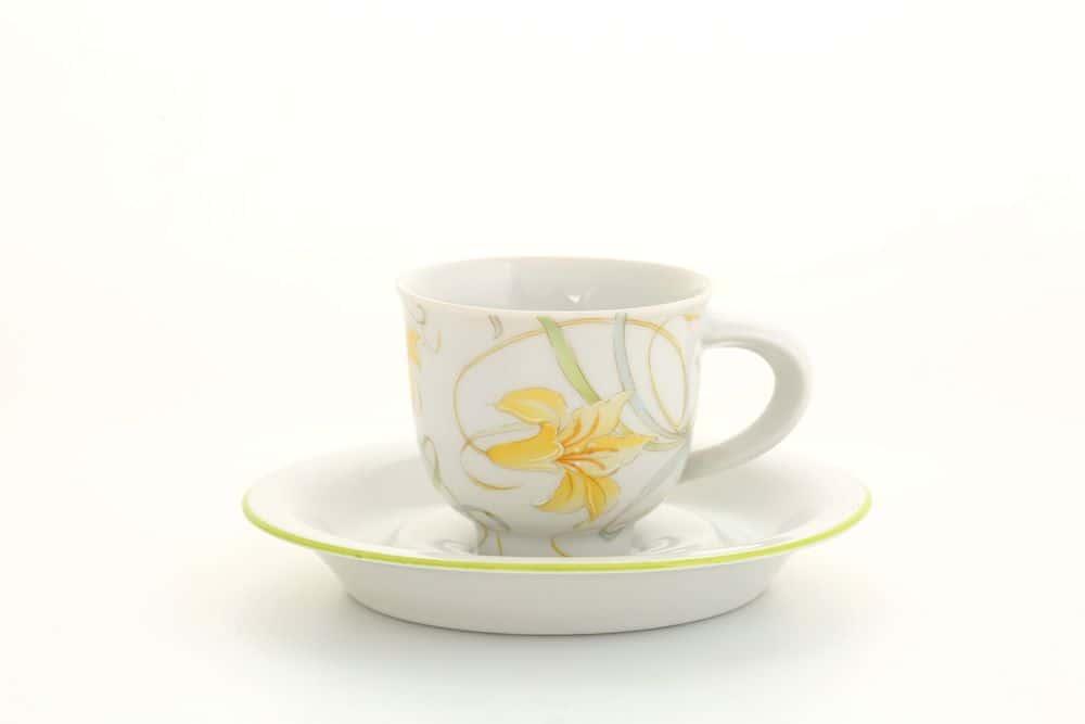 Чашка с блюдцем 0,10л арт.52120413-8061AL