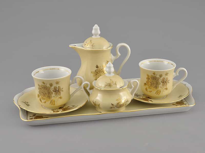 Подарочный набор кофейный Тет-а-тет LEANDER Мэри-Энн форма