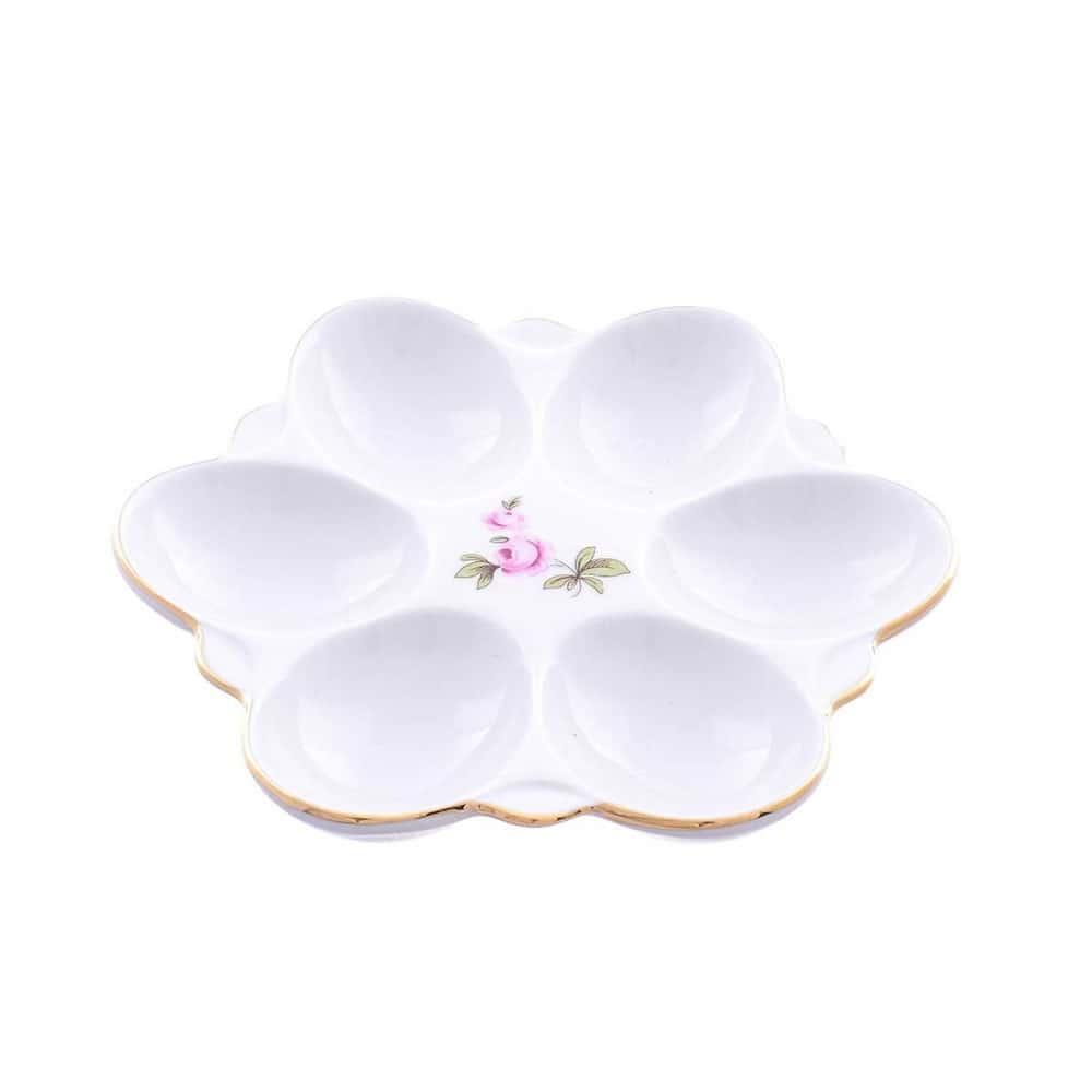 Поднос для яиц Queens Crown Полевой цветок 15см