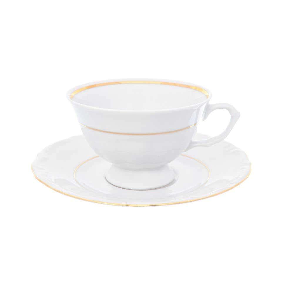 Набор чайных пар Repast Классика классическая чашка (6 пар) 200 мл