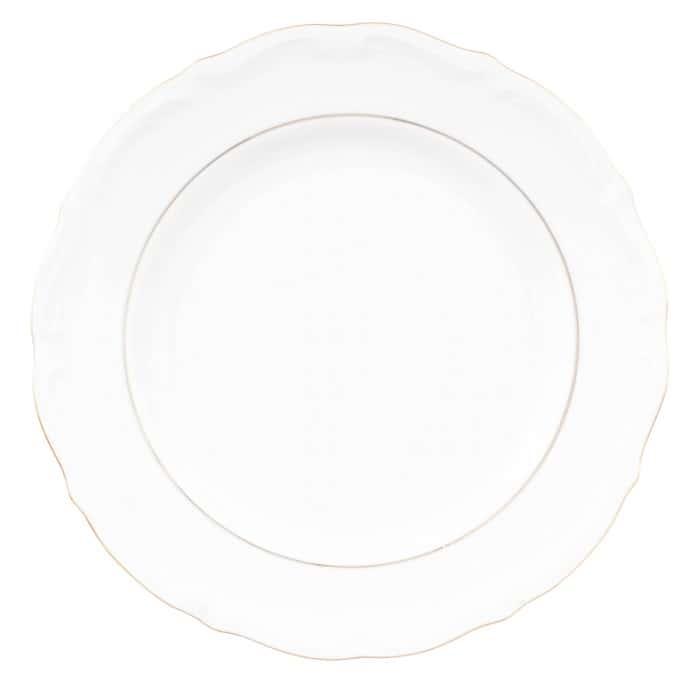 Набор плоских тарелок 25 см Repast Классика( 6 шт)