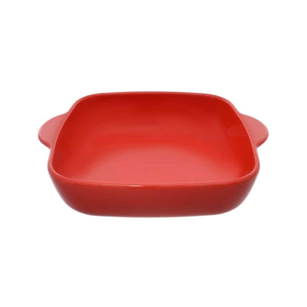 Квадратная форма для запекания Repast глянцевый красный 29x24x6,5 см 2л