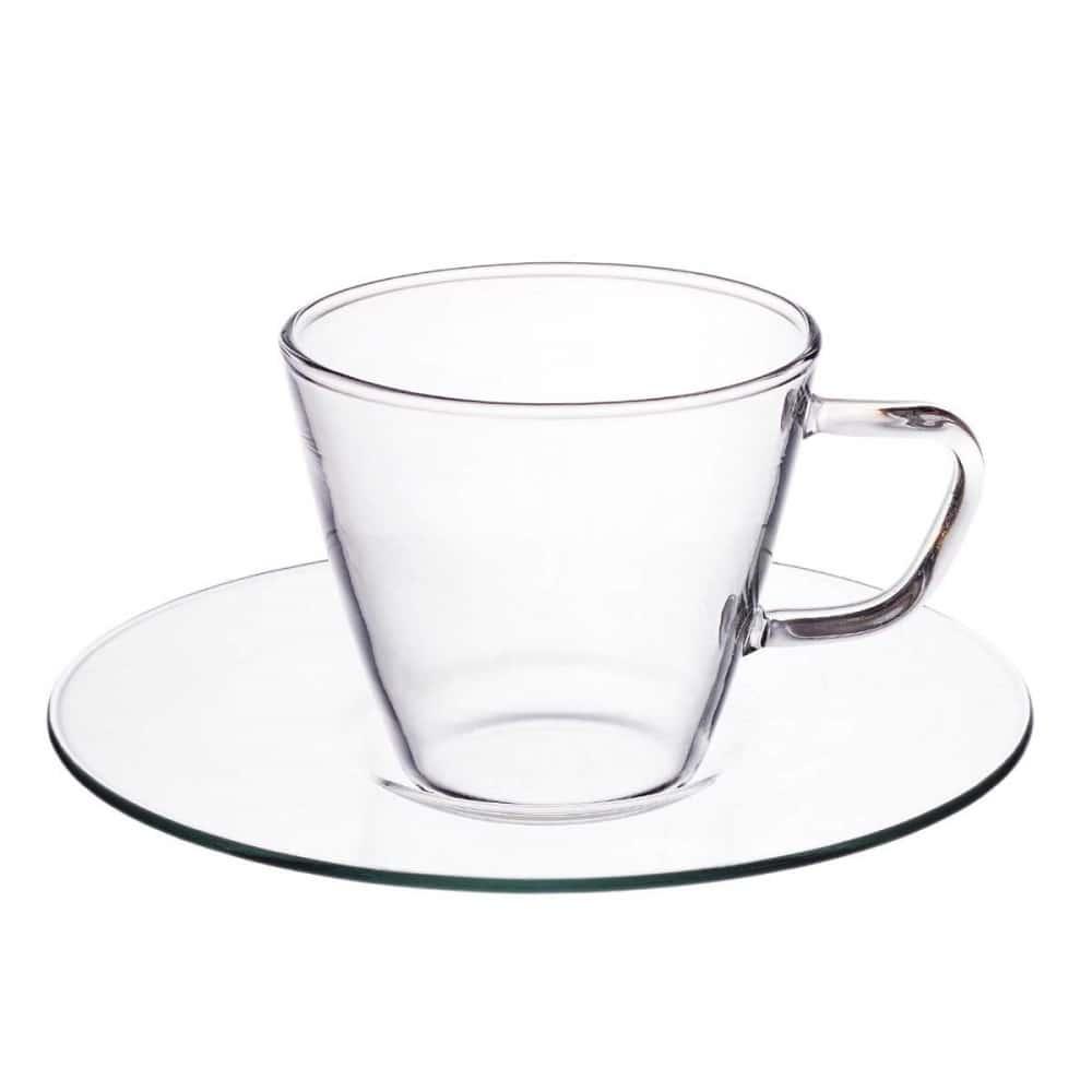 Набор чайных пар Classic Presso Simax 80 мл (4 пары)