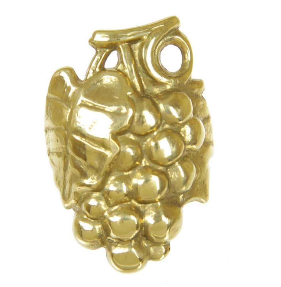 Кольцо для салфетки Виноград, Alberti Livio 5х4 см