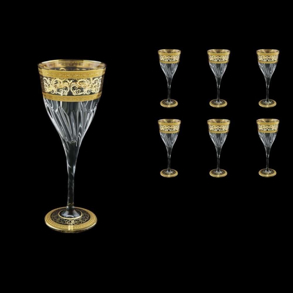 Набор бокалов 220мл.5шт. Аллегро зол. Astra Gold