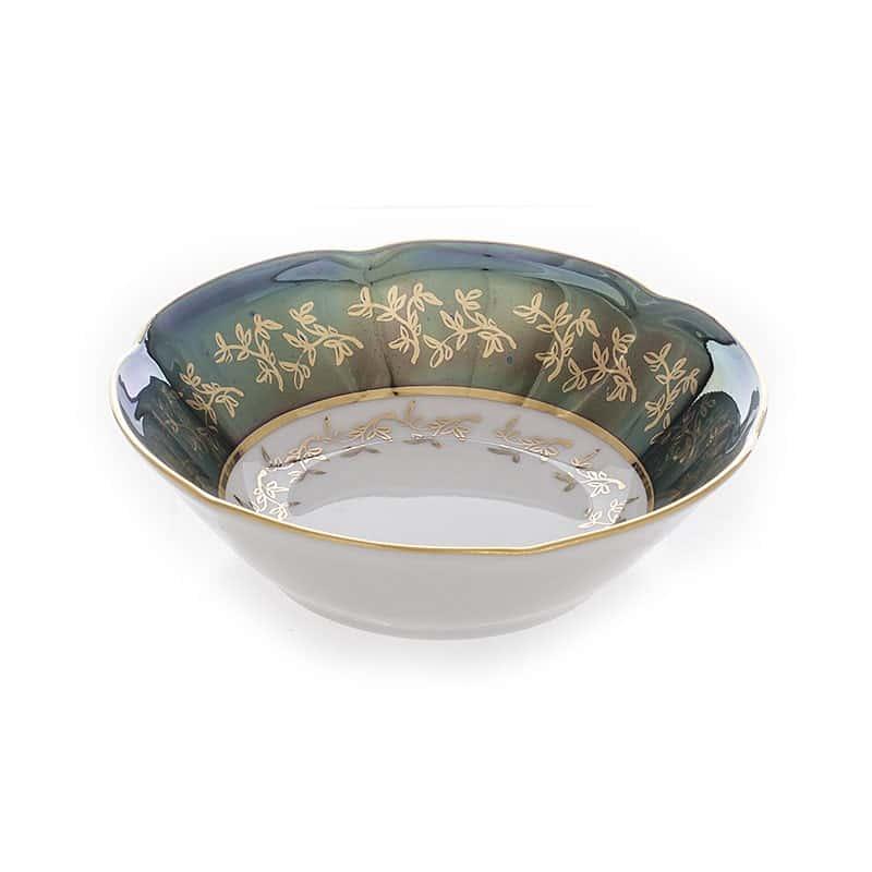 Салатник Мария - Лист зеленый Bavarian Porcelain 13см. 1шт.