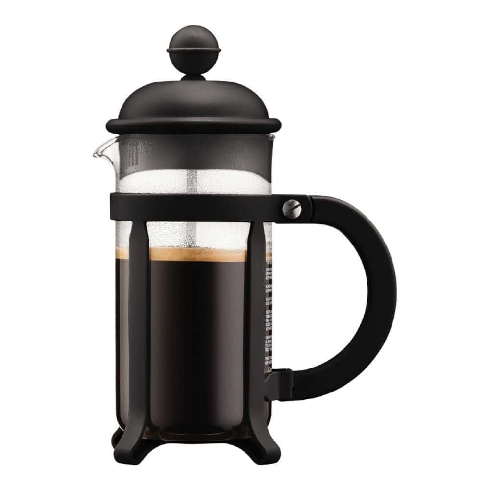 Кофейник френч-пресс Bodum Java, 0.35 л, цвет черный