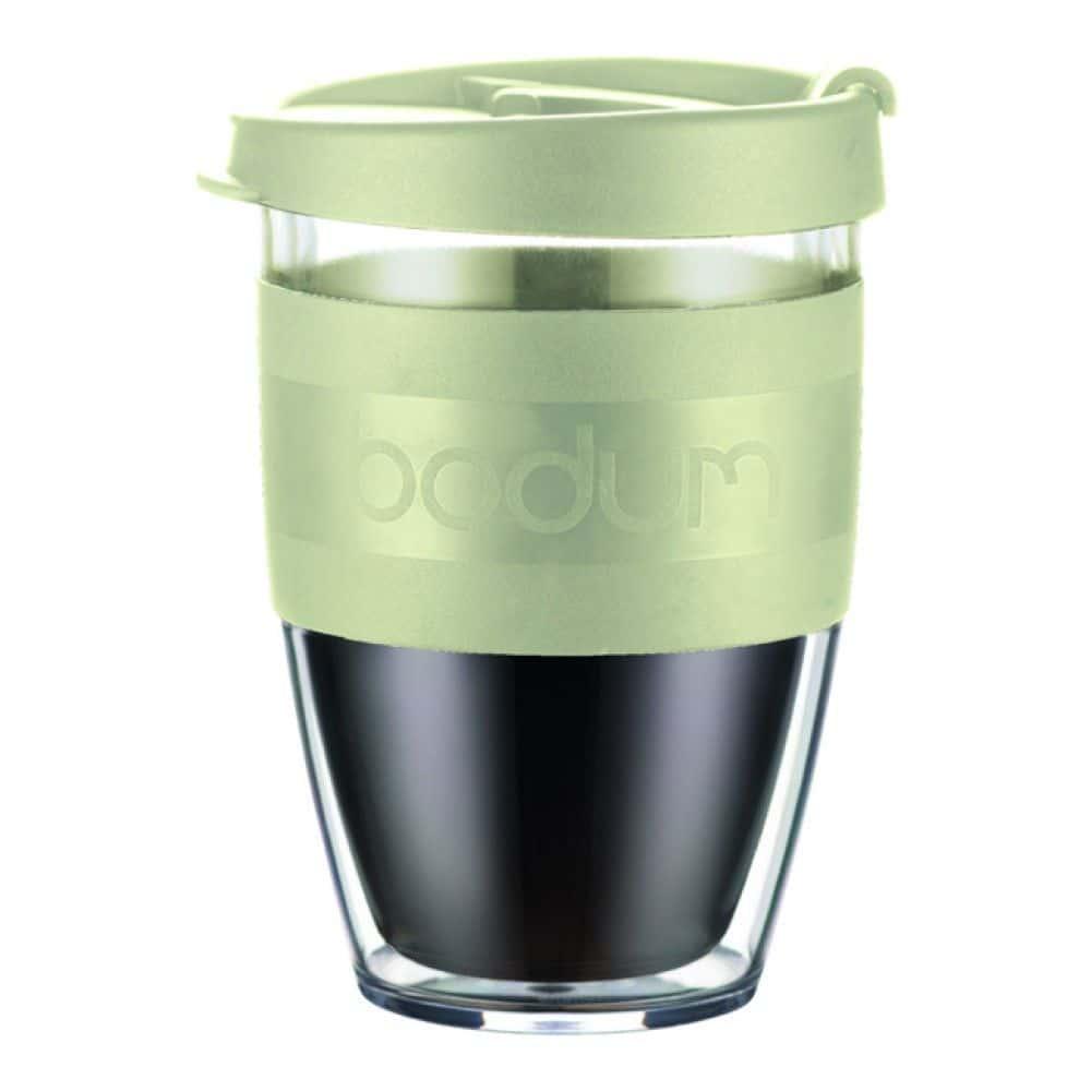 Термокружка дорожная Bodum JoyCup, 0.3 л, цвет фисташковый